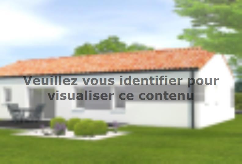 Modèle de maison Avant projet Beauvoir Sur Mer - 4ch + 1 bureau : Vignette 2