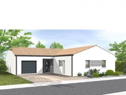 Modèle de maison Avant projet La Chappelle Aux Lys - 3 chambres + 1 3 chambres  : Photo 1