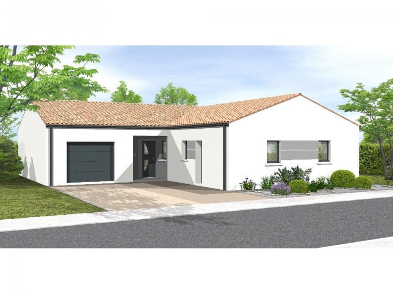 Modèle de maison Avant projet La Chappelle Aux Lys - 3 chambres + 1 : Vignette 1