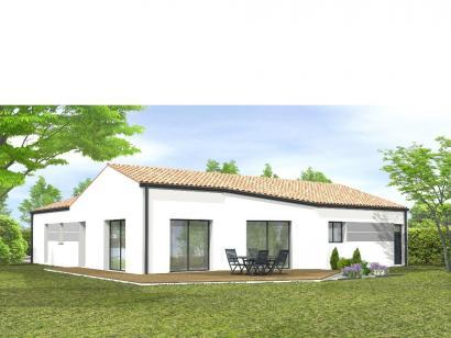 Modèle de maison Avant projet La Chappelle Aux Lys - 3 chambres + 1 3 chambres  : Photo 2