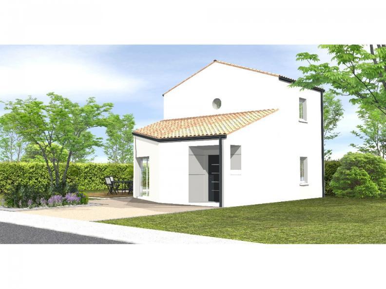 Modèle de maison Avant projet Grues 3 chambres : Vignette 1