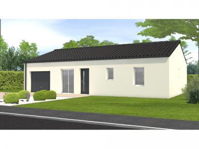 Modèle de maison Avant projet Châteauneuf - 3 chambres 3 chambres  : Photo 1