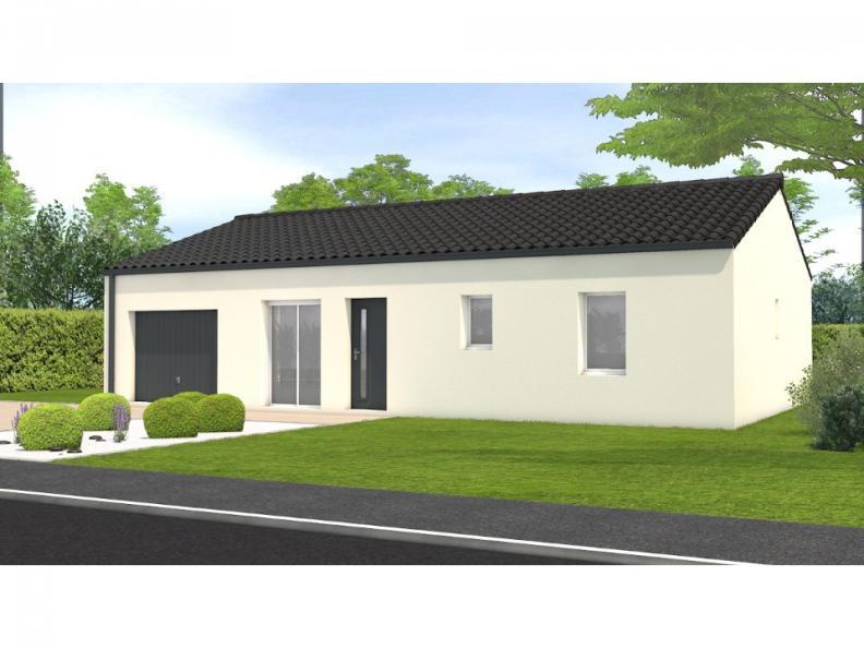 Modèle de maison Avant projet Châteauneuf - 3 chambres : Vignette 1