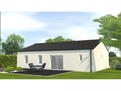 Modèle de maison Avant projet Châteauneuf - 3 chambres 3 chambres  : Photo 2
