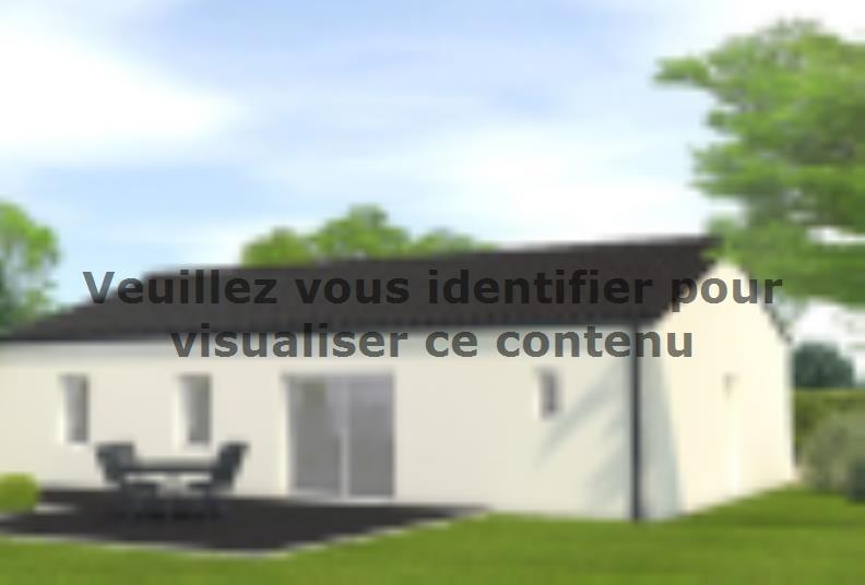 Modèle de maison Avant projet Châteauneuf - 3 chambres : Vignette 2