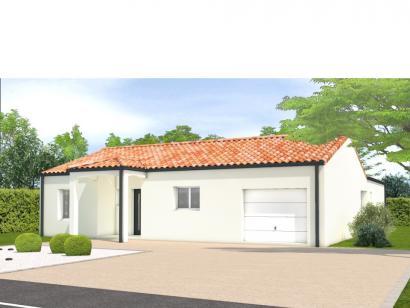 Modèle de maison Avant projet Lairoux - 3 chambres 3 chambres  : Photo 1