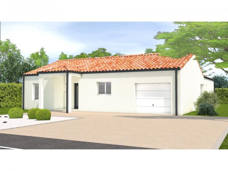Modèle de maison Avant projet Lairoux - 3 chambres : Vignette 1