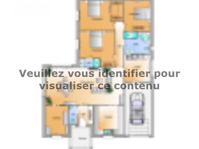 Plan de maison Avant projet Lairoux - 3 chambres : Vignette 1
