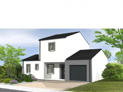 Modèle de maison Avant projet Les Achards - 3 chambres 3 chambres  : Photo 1
