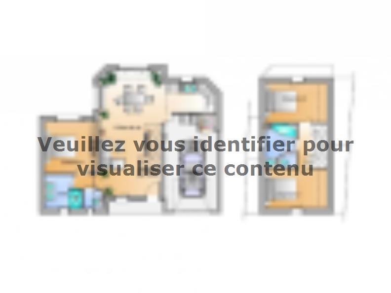 Plan de maison Avant projet Les Achards - 3 chambres : Vignette 1