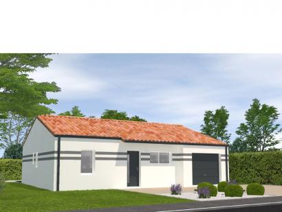 Modèle de maison Avant Projet Bellevigny - 2 chambres 2 chambres  : Photo 1