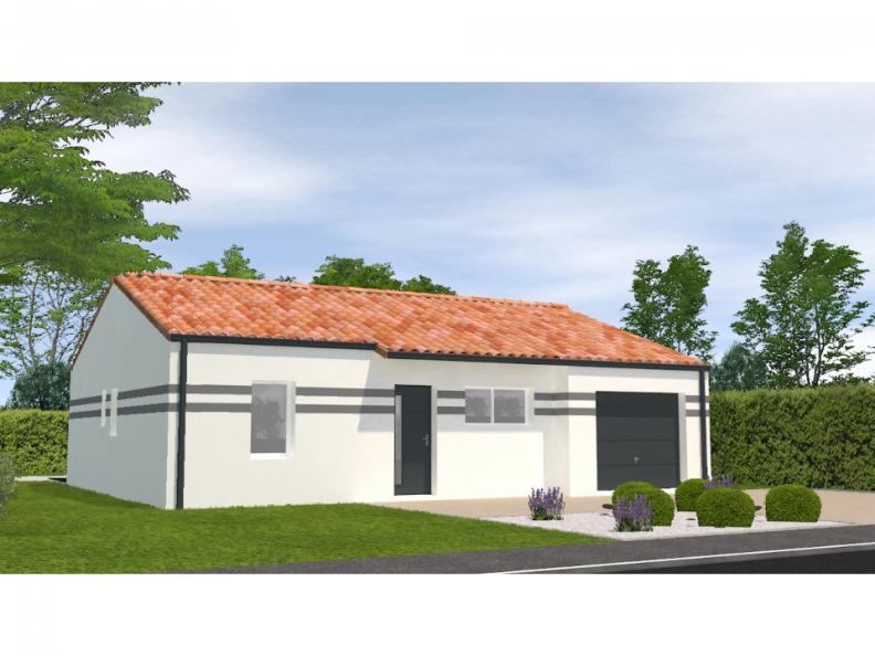Modèle de maison Avant Projet Bellevigny - 2 chambres : Vignette 1