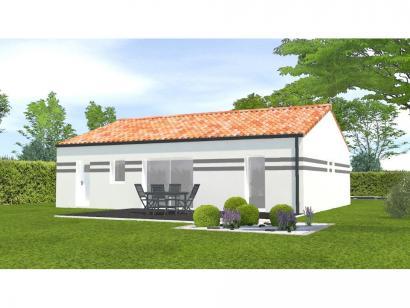 Modèle de maison Avant Projet Bellevigny - 2 chambres 2 chambres  : Photo 2