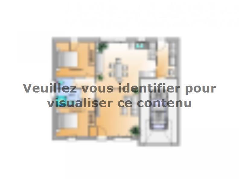 Plan de maison Avant Projet Bellevigny - 2 chambres : Vignette 1