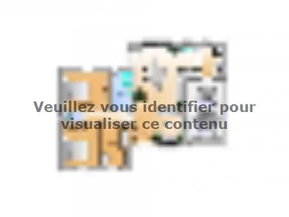 Plan de maison Avant projet Aubigny Les Clouzeaux 2 chambres + 1 2 chambres  : Photo 1