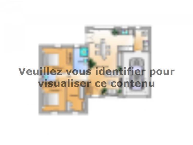 Plan de maison Avant projet Aubigny Les Clouzeaux 2 chambres + 1 : Vignette 1