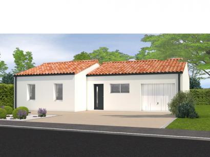 Modèle de maison Avant projet Aubigny Les Clouzeaux 2 chambres + 1 2 chambres  : Photo 1