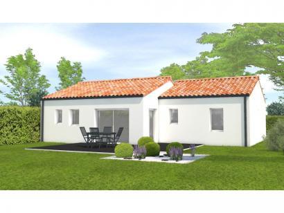 Modèle de maison Avant projet Aubigny Les Clouzeaux 2 chambres + 1 2 chambres  : Photo 2