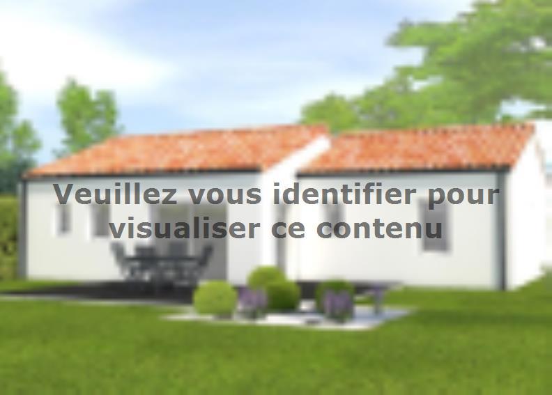 Modèle de maison Avant projet Aubigny Les Clouzeaux 2 chambres + 1 : Vignette 2