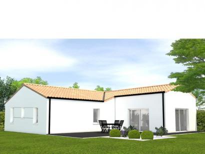 Modèle de maison Avant projet La Faute Sur Mer - 4 chambres 4 chambres  : Photo 2