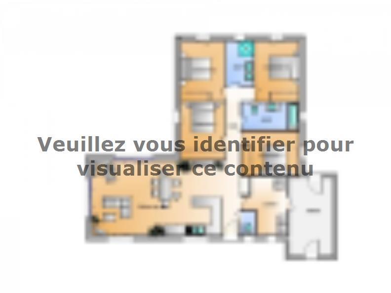 Plan de maison Avant projet La Faute Sur Mer - 4 chambres : Vignette 1