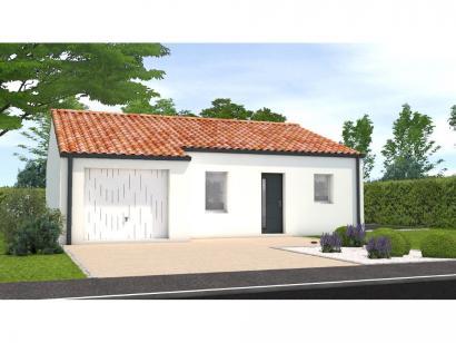 Modèle de maison Avant projet La Rabateliére - 3 chambres 3 chambres  : Photo 1