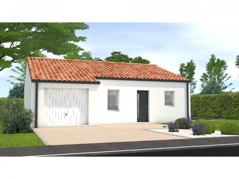 Modèle de maison Avant projet La Rabateliére - 3 chambres : Vignette 1