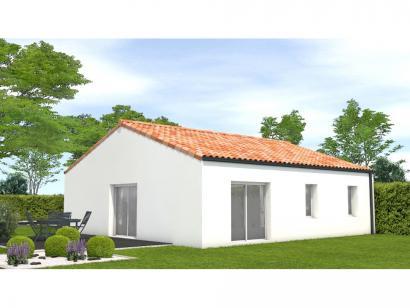 Modèle de maison Avant projet La Rabateliére - 3 chambres 3 chambres  : Photo 2