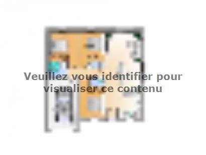 Plan de maison Avant projet La Rabateliére - 3 chambres 3 chambres  : Photo 1