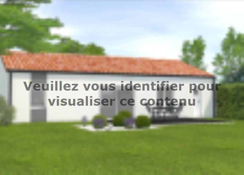 Modèle de maison Avant projet Landevieille 80m² 2 chambres : Vignette 2