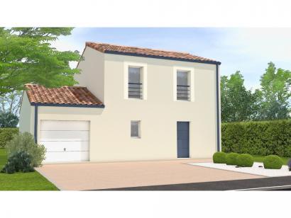 Modèle de maison Avant projet Palluau - 79m² -3 chambres 3 chambres  : Photo 1