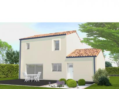 Modèle de maison Avant projet Palluau - 79m² -3 chambres 3 chambres  : Photo 2