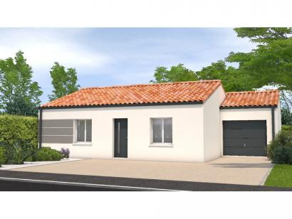 Modèle de maison Avant projet Grand Landes - 2 chambres - 72m² 2 chambres  : Photo 1