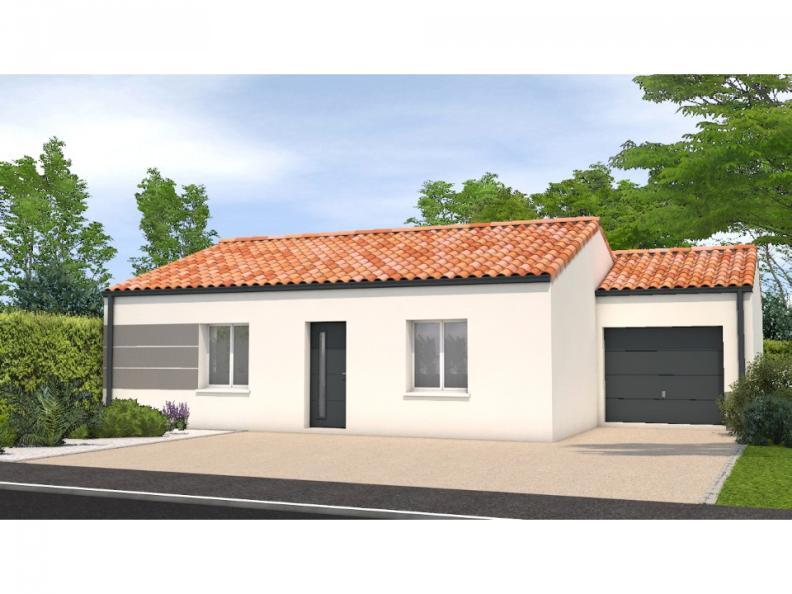 Modèle de maison Avant projet Grand Landes - 2 chambres - 72m² : Vignette 1