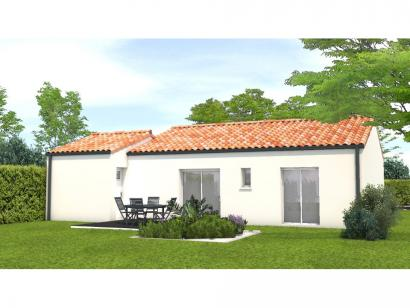Modèle de maison Avant projet Grand Landes - 2 chambres - 72m² 2 chambres  : Photo 2