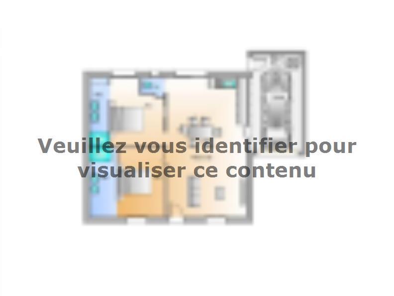 Plan de maison Avant projet Grand Landes - 2 chambres - 72m² : Vignette 1