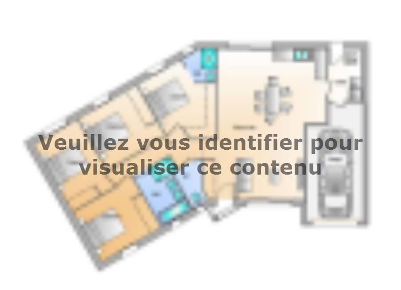 Plan de maison Avant projet Landevieille - 4 chambres - 105m² : Vignette 1