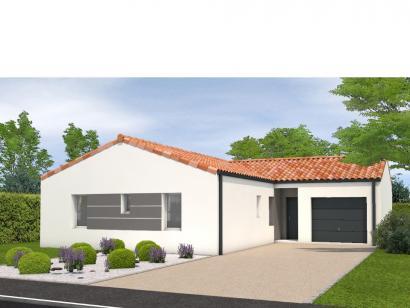 Modèle de maison Avant projet La Jnchère - 3 chambres + 1 bureau - 4 chambres  : Photo 1
