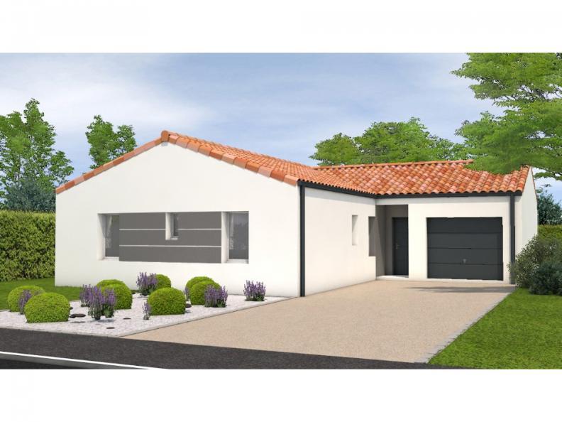 Modèle de maison Avant projet La Jnchère - 3 chambres + 1 bureau - : Vignette 1