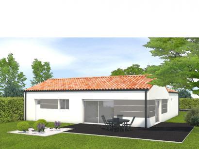 Modèle de maison Avant projet La Jnchère - 3 chambres + 1 bureau - 4 chambres  : Photo 2