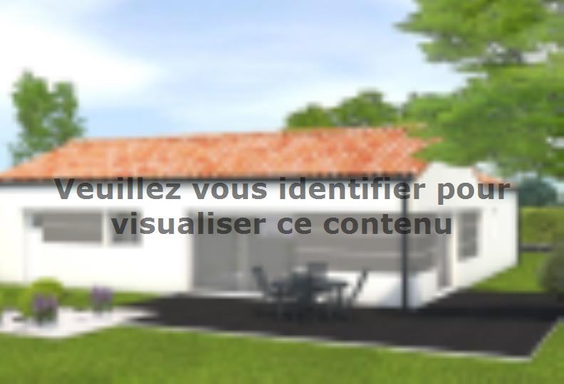 Modèle de maison Avant projet La Jnchère - 3 chambres + 1 bureau - : Vignette 2