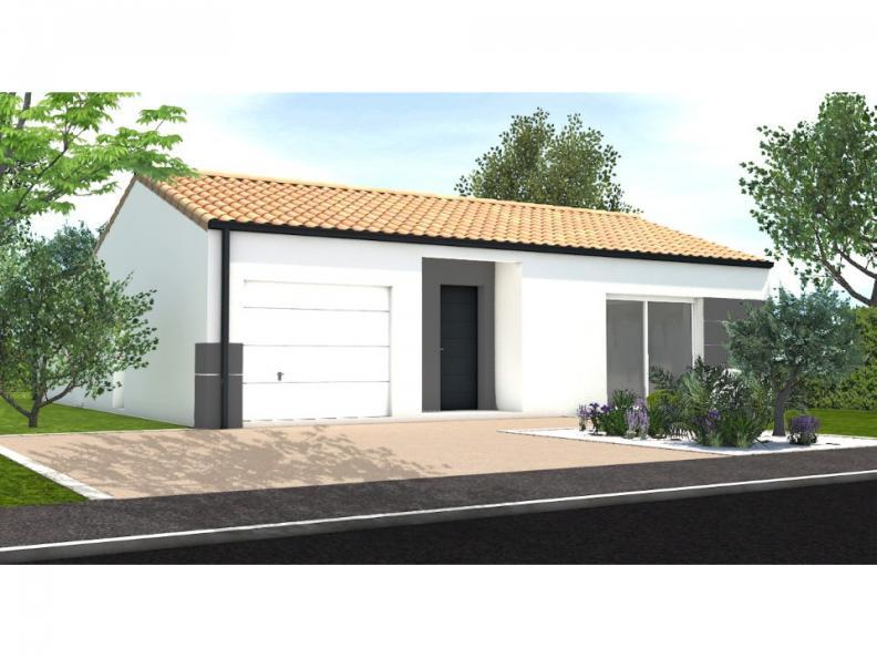 Modèle de maison Avant projet St Hilaire La Foret - 3 chambres - 86 : Vignette 1