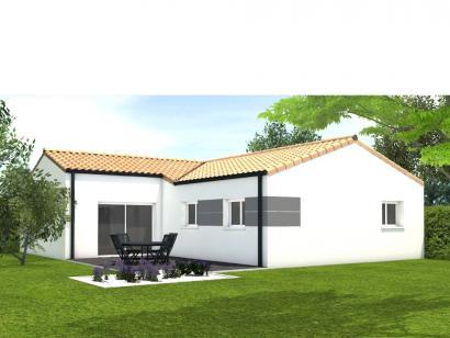 Modèle de maison Avant projet St Hilaire La Foret - 3 chambres - 86 3 chambres  : Photo 2