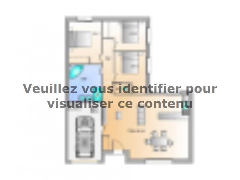 Plan de maison Avant projet St Hilaire La Foret - 3 chambres - 86 : Vignette 1