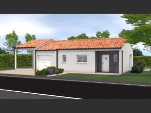 Avant projet Saint Fulgent - 3 chambres - 114m²