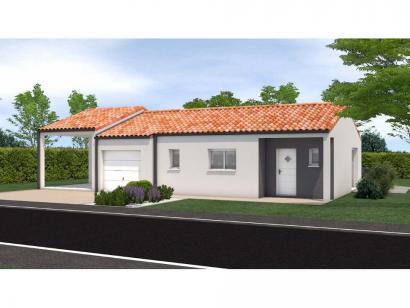 Modèle de maison Avant projet Saint Fulgent - 3 chambres - 114m² 3 chambres  : Photo 1