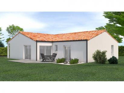 Modèle de maison Avant projet Saint Fulgent - 3 chambres - 114m² 3 chambres  : Photo 2