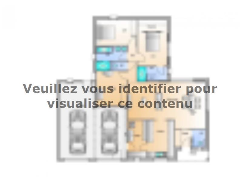 Plan de maison Avant projet Saint Fulgent - 3 chambres - 114m² : Vignette 1