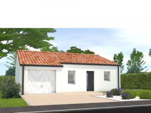 Maison neuve à La Meilleraie-Tillay (85700)<span class='prix'> 137000 €</span> 137000