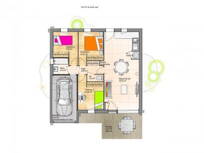 Maison neuve  à  La Châtaigneraie (85120)  - 144500 € * : photo 1